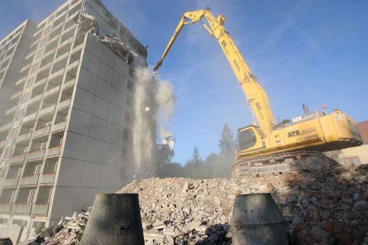 Demolizioni a Torino