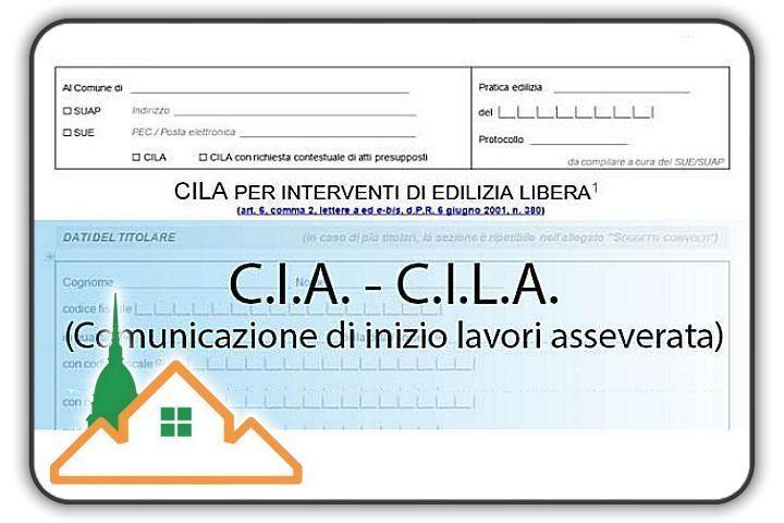 Comunicazione Inizio Lavori Asseverata Torino