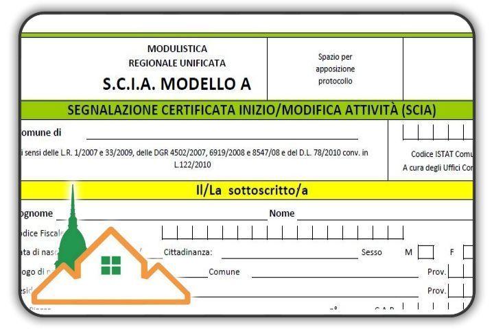 Segnalazione Certificata Inizio Attività Torino