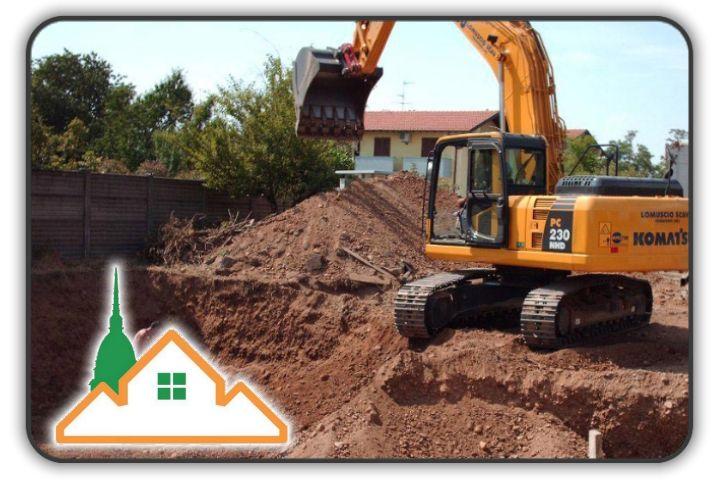 scavi edili torino e provincia